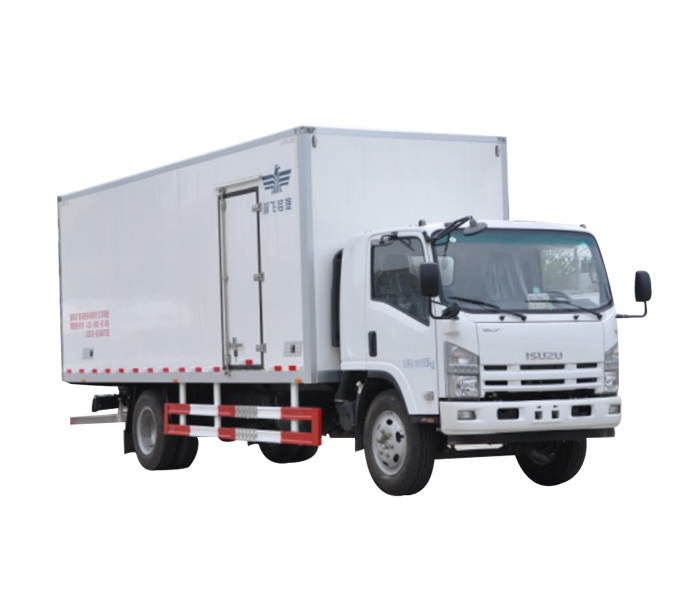Refrigerated truck for urban distribution